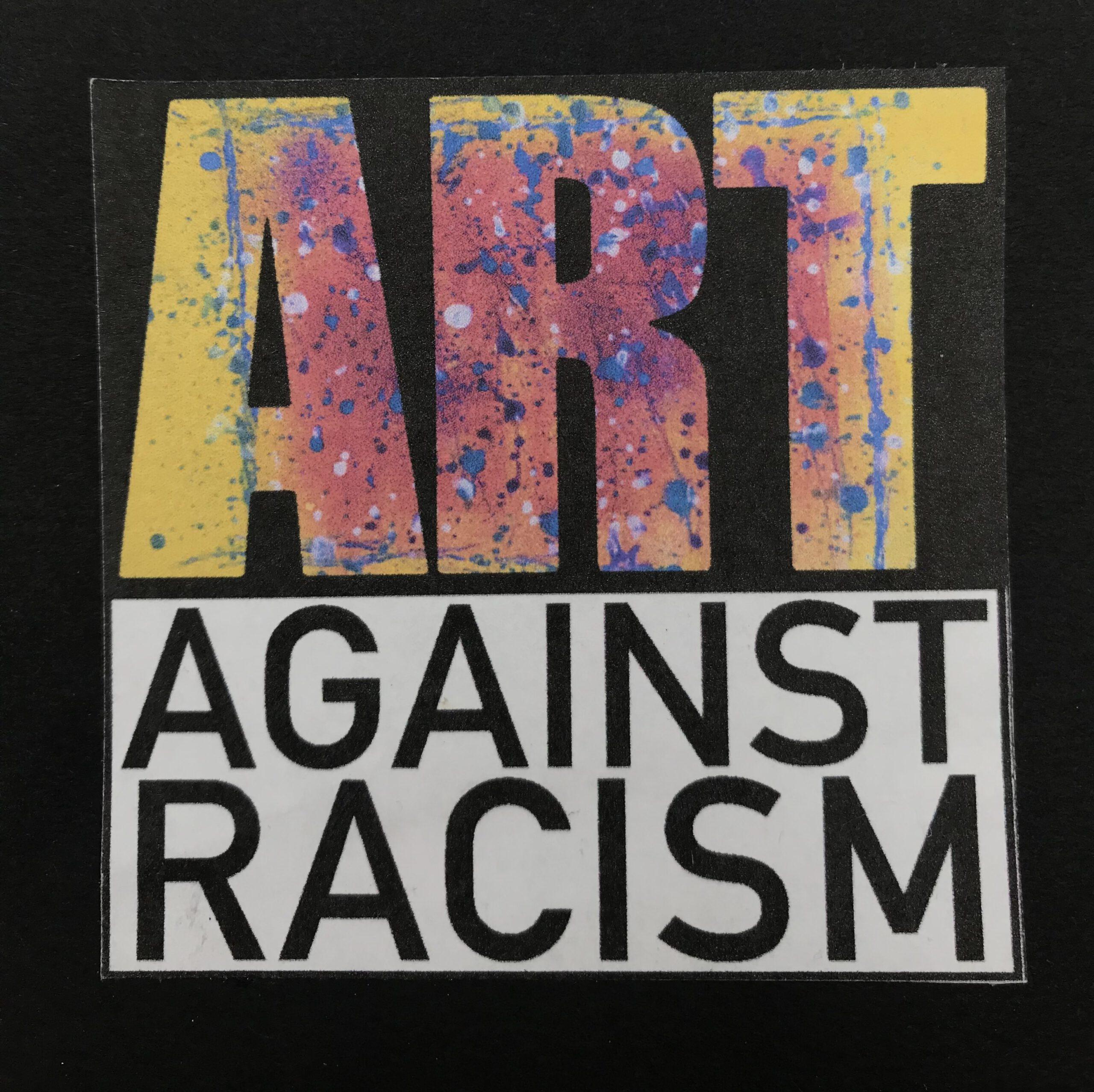 "Logo ""Art against racism"""